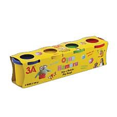 Play Dough 4 цвята x100 гр.кут