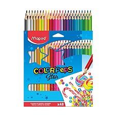 Цветни моливи Maped 48 цвята