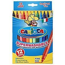 Флумастери Carioca JUMBO 12 цв.
