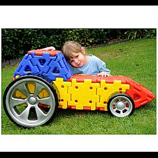 Polydron Гигантски комплект за стрителство на превозни средства