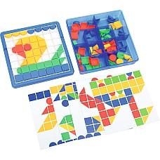 Мозайка с големи елементи 92 ч - Цвят и форма