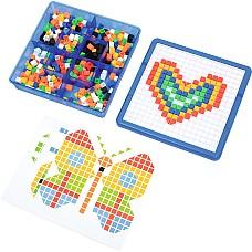 Мозайка в кутия 490 ч - Цвят и форма