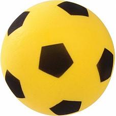 Футболна топка - лека, дунапрен, жълта