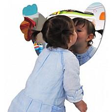 Огледало за детски кът- Кокошка
