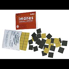 Магнитни самозалепващи квадратчета