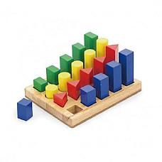 Последователни блокчета с форми