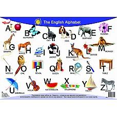 Да научим лесно Английската азбука - Настолно табло