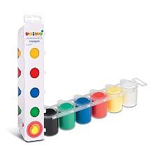 Боя за рисуване с пръсти, 6 цвята