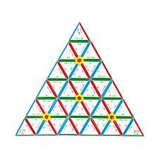 Математическа пирамида - събиране и изваждане